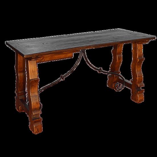 One Drawer Desk with Blacksmith Rest