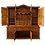Thumbnail: Hand Hewn Solid Wood 2 Piece Buffet/Cabinet