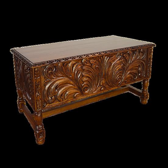 Elite Rustic Hand Carved Desk