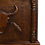 Thumbnail: Western Rustic Bar with Hand Carved Buffalo Skull