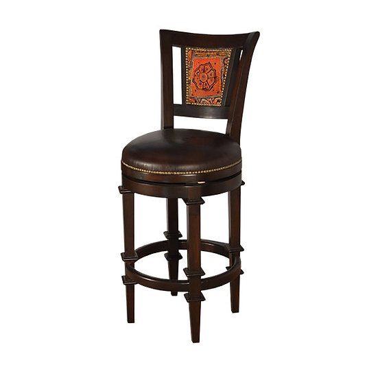 Mesquite Swivel Bar Stool