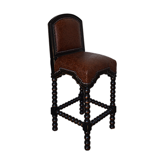 Bar Stool with Ring Base