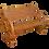 Thumbnail: Wagon Wheel Bench