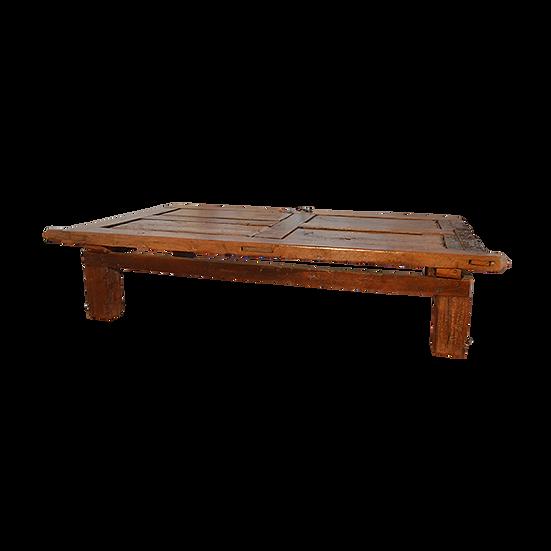 Reclaimed Mesquite Door Coffee Table