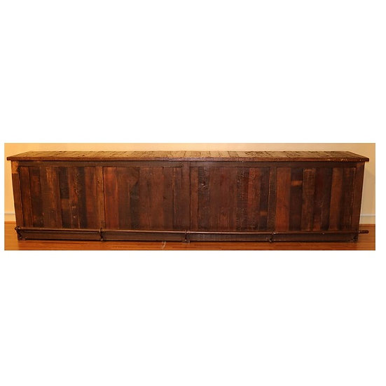 Two Mountain Ranch House Bar with Bar Back