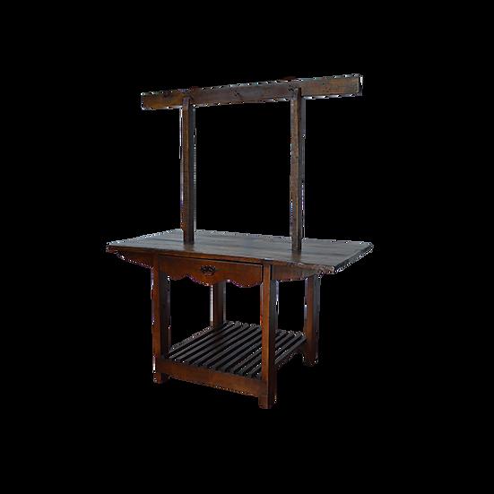 Kitchen Island/Hall Tree with Hooks