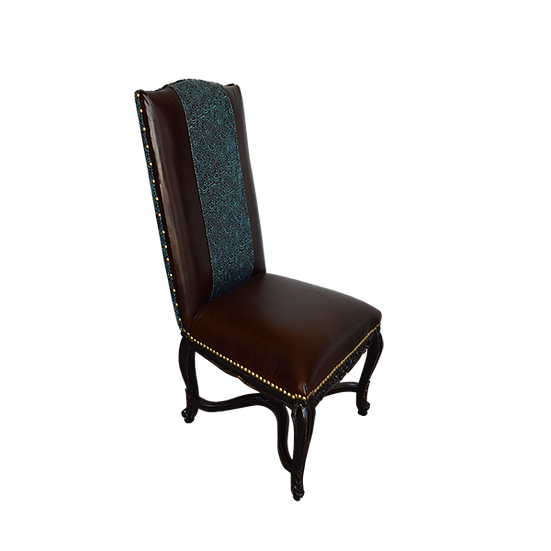 President Leather Dining Chair