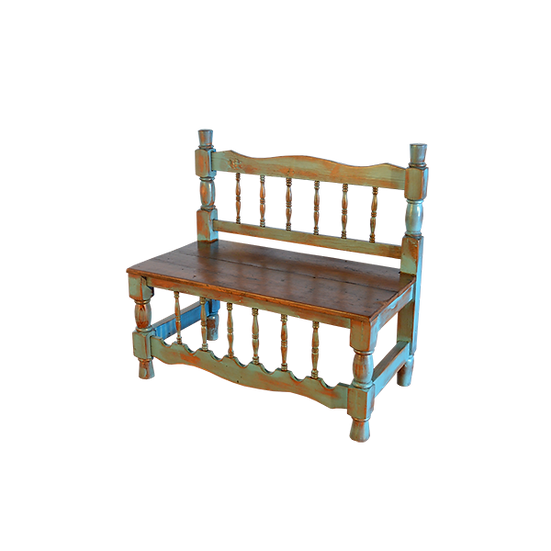 Turquoise Wash Bench