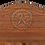 Thumbnail: Elite Rustic Texas Star Bench - Light Finish