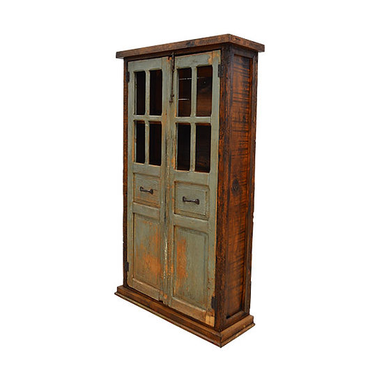 Two Door Armoire made with Reclaimed Wood
