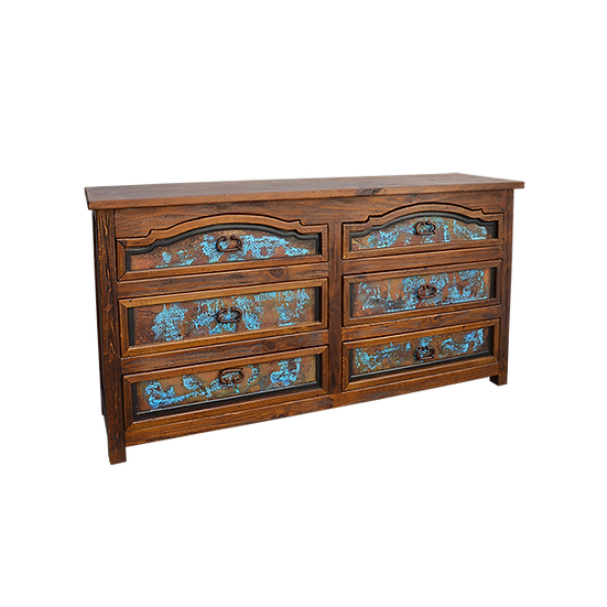 Rancho Turquoise Copper Dresser