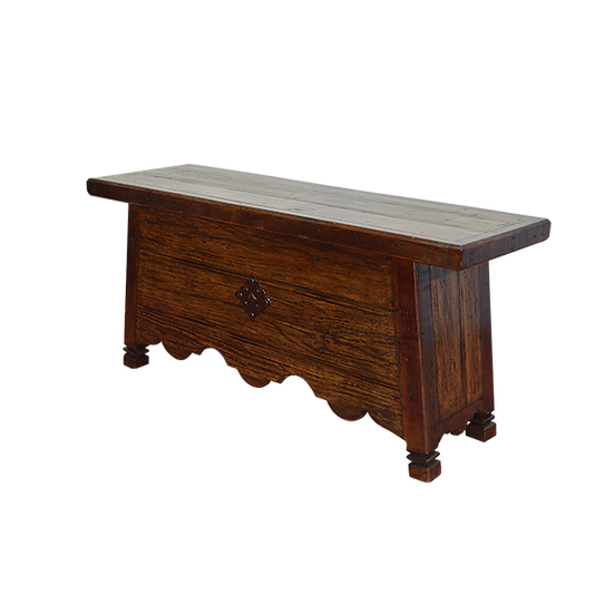 Desk with Chapeton Front
