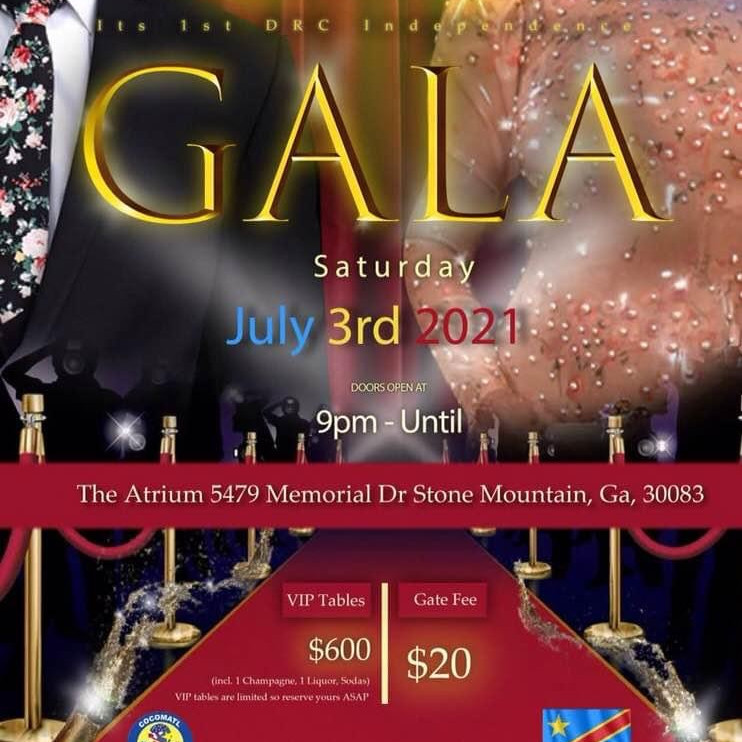 COCOMATL presents the DRC Independence GALA