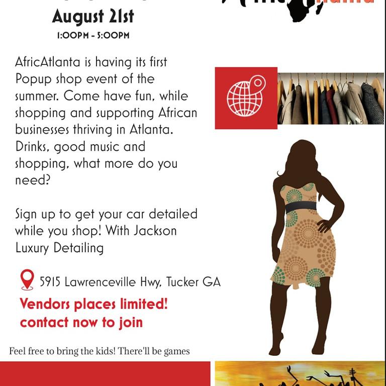 AfricAtlanta Pop Up Shop