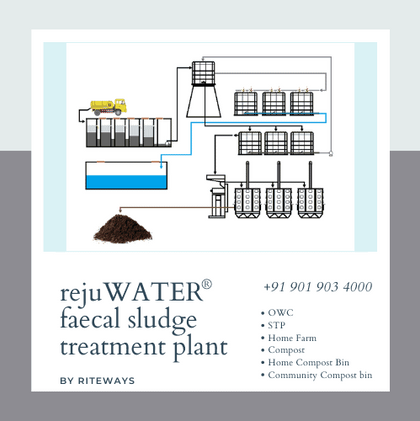 Faecal Sludge Treatment Plant