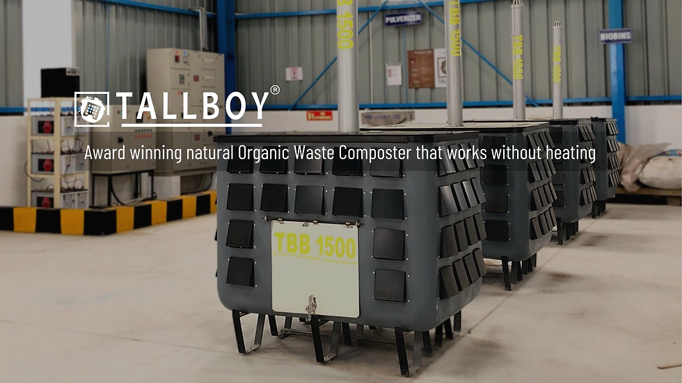 TALLBOY, Organic waste converter