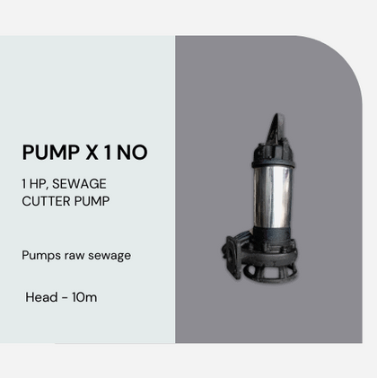 Submersible Cutter Pump