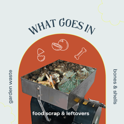 What all waste can TALLBOY Composter handle