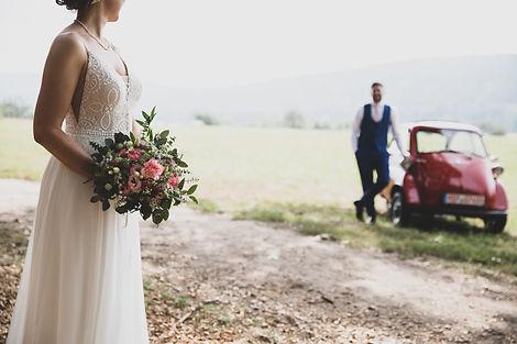 Hochzeitsstrauß Braut Bräutigam