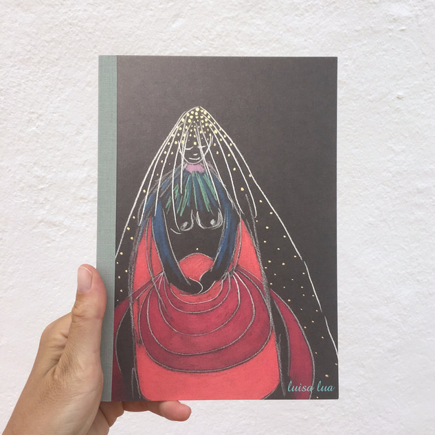 guardian of elemental force (notebook / sketchbook)