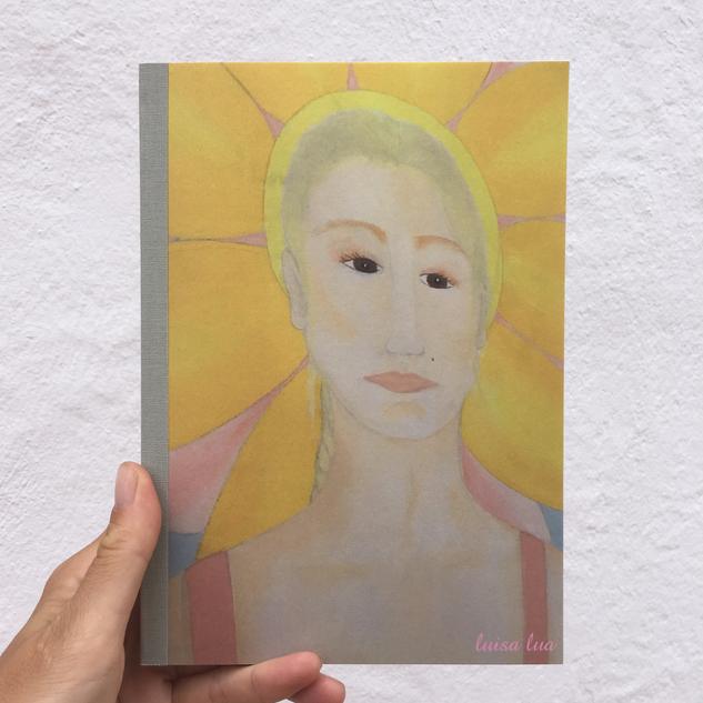 sun-woman (notebook / sketchbook)