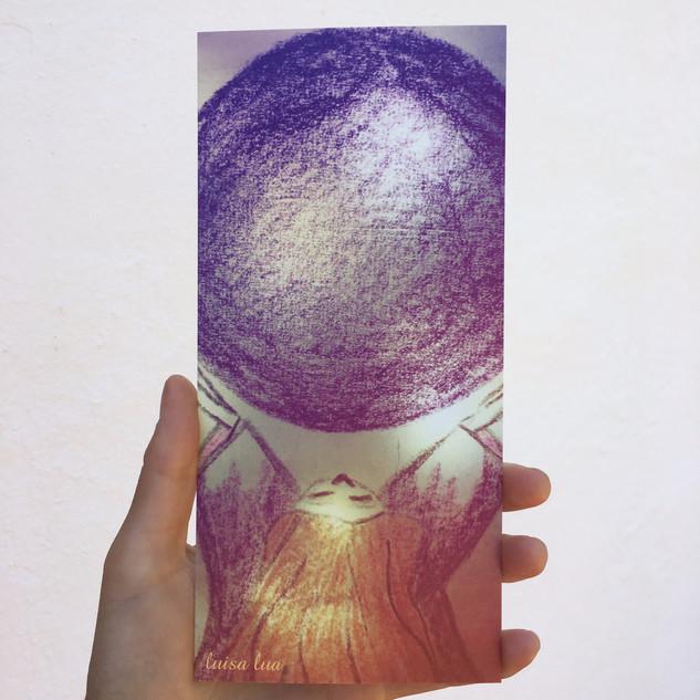 light-being (postcard)