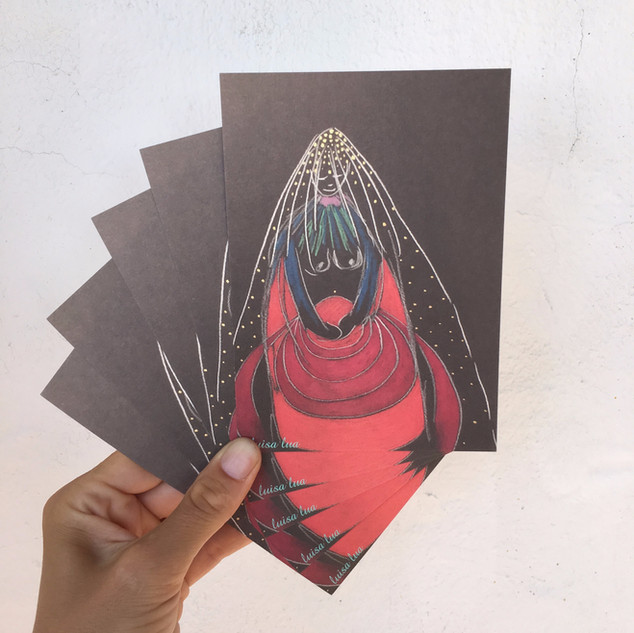 guardian of elemental force (postcard)