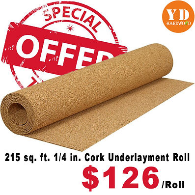 Cork Underlayment
