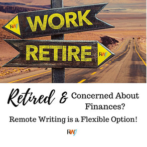 Part-time 'Work from Anywhere' Writing Gigs for Retirees