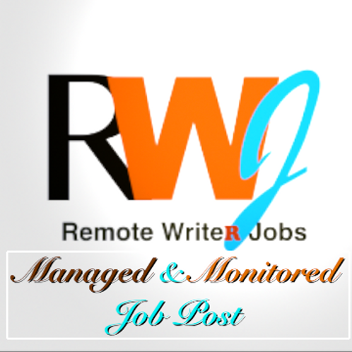 Managed and Monitored Job Post