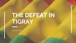 End of War—The Defeat of Tigray