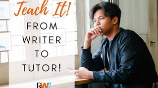 Don't Limit Yourself to Writing Gigs...Teach It!