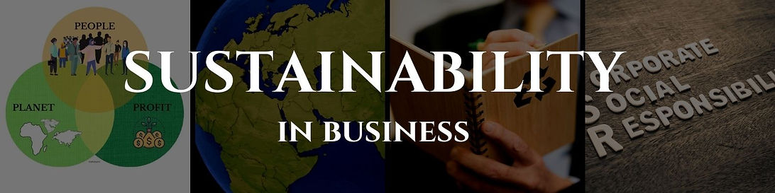 Sustainability in Business - GahnSource.