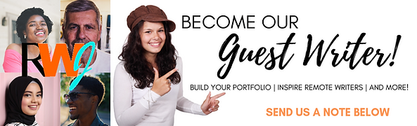 BECOME A GUEST WRITER WITH REMOTEWRITERJ