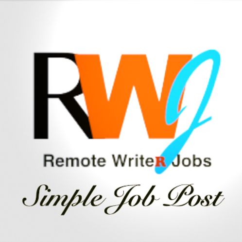 Simple Job Post