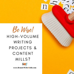 Why Clients Avoid Content Mills for High-volume Writing Projects