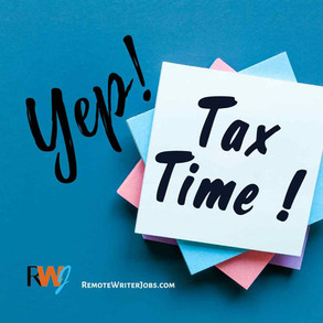 Freelance Writers and Taxes: Knowing the Important Facts