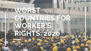 2020: 10 Worst Countries for Workers