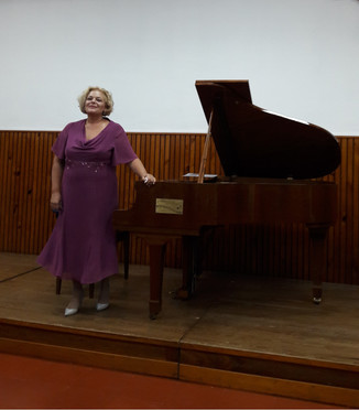 Concierto de Piano: Cinzia Bartoli (Italia) en el ISSA