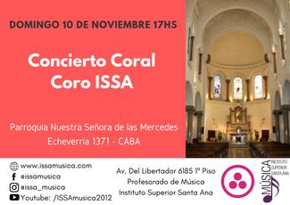 Concierto Coral - Coro ISSA