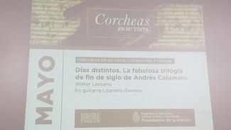 Corcheas en su tinta: La trilogia de Andres Calamaro