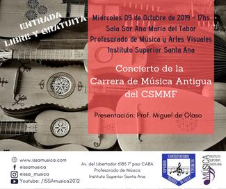 Concierto Música Antigua