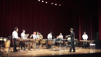 Conjunto Ritmus + Ensamble de Percusión del ISSA en el Auditorio de Belgrano