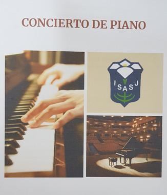Concierto solidario de piano