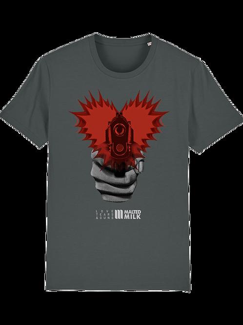 T-Shirt - Malted Milk - Love Tears & Guns