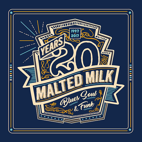 "2017 - CD ""Compilation 20 years Malted Milk"""