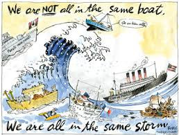 Are We Really All in the Same Boat?