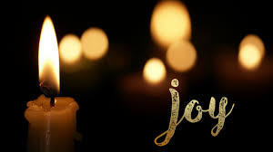 Advent Three:  Joy is a Song.