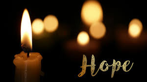 Advent One:  Hope is our Star.