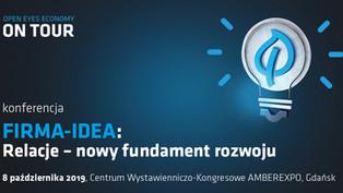 """Konferencja """"Relacje – nowy fundament rozwoju"""" Centrum Wystawienniczo-Kongresowe AMBEREXPO - 8 paźdz"""